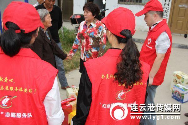 """6、""""红帆船""""志愿服务队"""