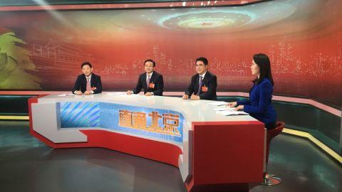 项雪龙做客江苏卫视 畅谈构建全面开放新格局 培育国际竞争新优势