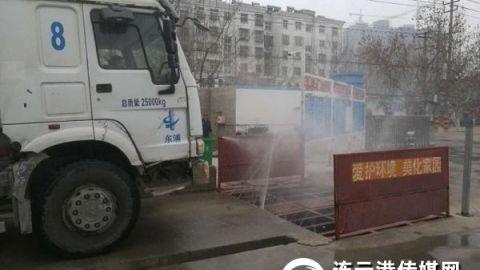 """实时监控扬尘污染 我市为13个工地装上""""千里眼"""""""