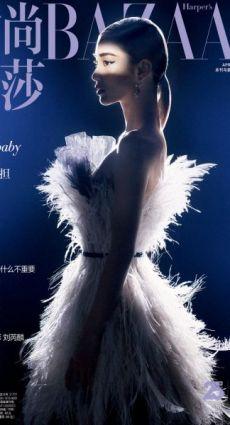 Angelababy杂志大片 穿梭光影演绎摩登气质