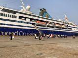 连云港—日本国际邮轮航线首航