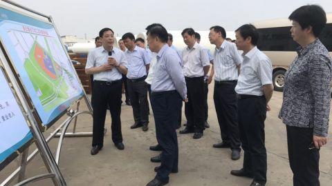 方伟调研连云港综合保税区建设验收工作