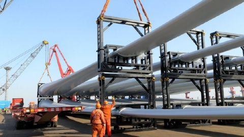 风电设备连云港港口集港出口