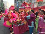 民俗表演精彩纷呈 市民共享春节文化大餐