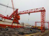 连云港港开工新建两艘近海拖轮